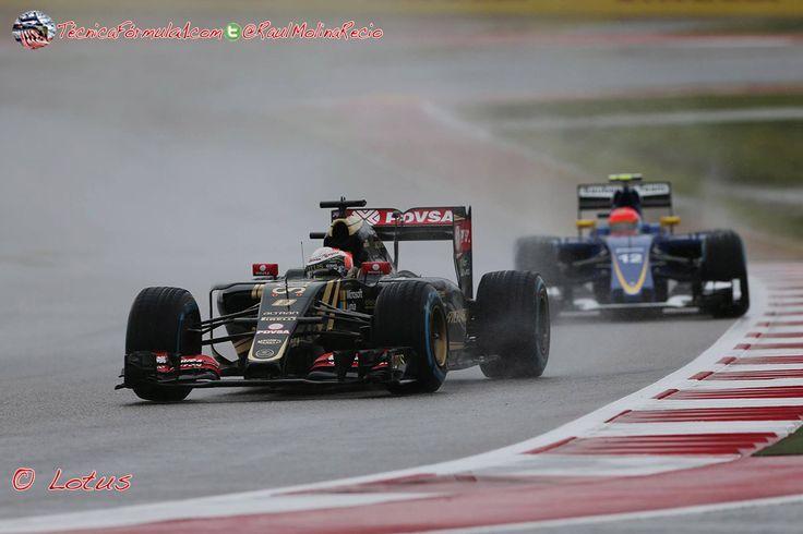 Maldonado: «No quería tomar riesgos al comienzo de la carrera»  #F1 #Formula1 #USGP