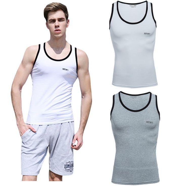 Temukan dan dapatkan Blok Surat pria Color Print Cotton Blend Gym Tank Vest Singlet hanya $38000.00 di Shopee sekarang juga! https://shopee.co.id/fashionmall.id/49149238 #ShopeeID