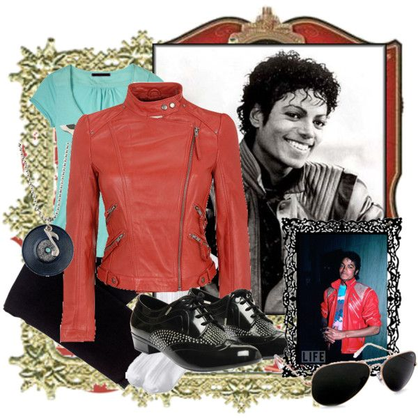 Michael Jackson by angelc on Polyvore featuring moda, Wilsons Leather, sass & bide, Melissa, Old Navy and Ray-Ban