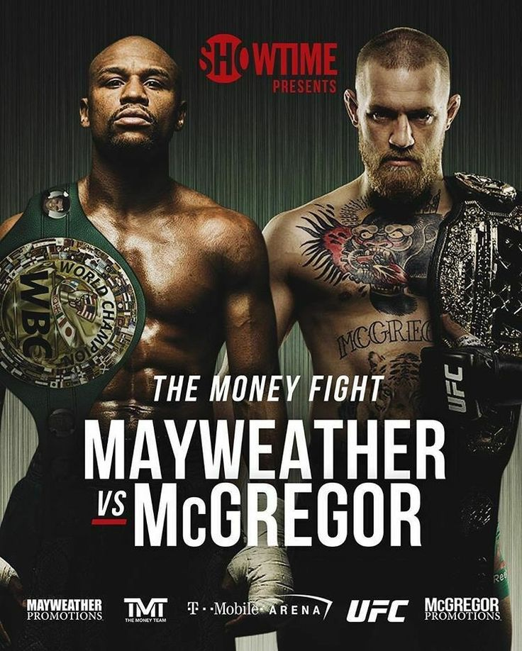 FLOYD MAYWEATHER VS. CONOR MCGREGOR IS OFFICIAL!!!