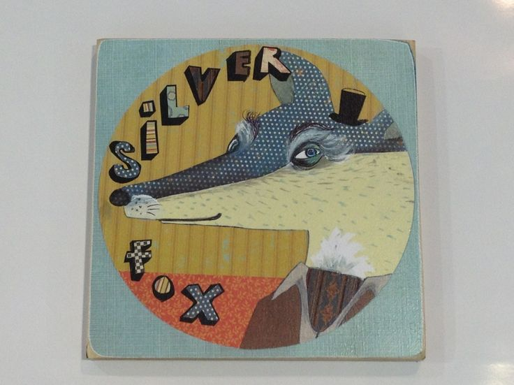 This is one of Hayley Hamiltons new work - Dopplegangers. See our website for more fabulous and funny works on ply wood.  $46 each.