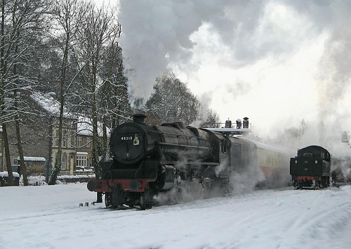 Santa Special on the North Yorkshire Moors Railway