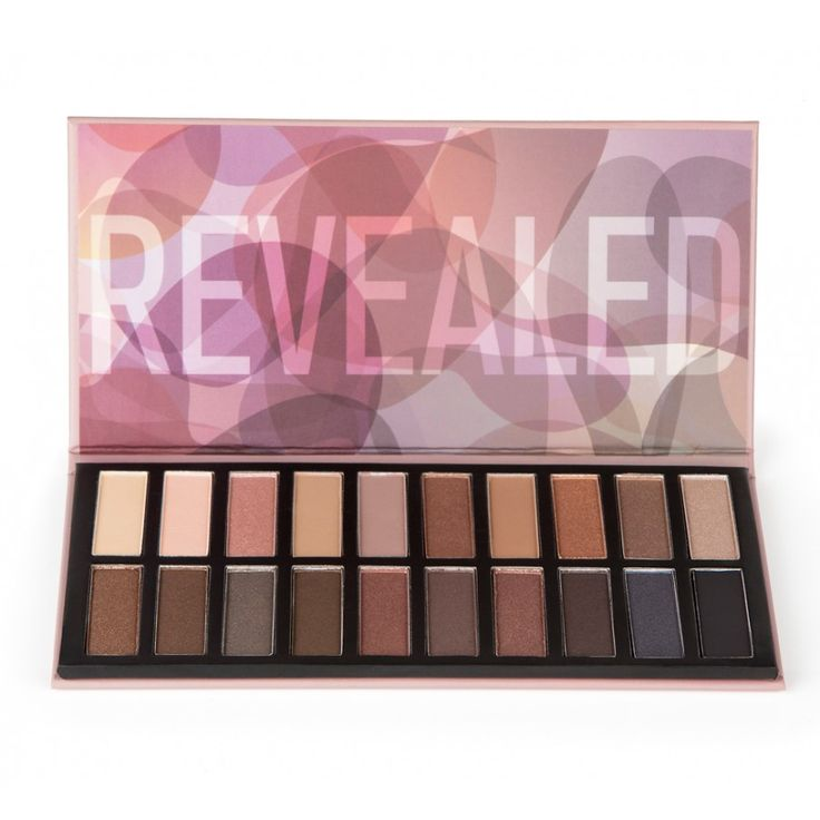 """""""Revealed"""" eyeshadow palette from Coastal Scents. Looks like a great substitution for the Naked and Naked 2 palettes from Urban Decay at less than half the price. $19.95"""