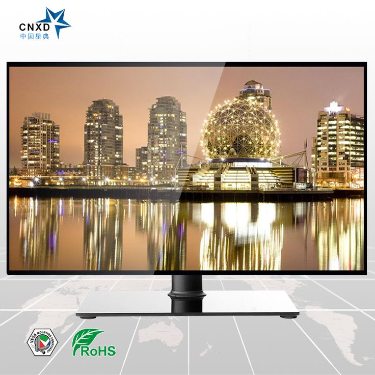 LCD Plasma TV Floor Stand Tv Table Stand with Universal TV Mount Suitable For 32''-52''