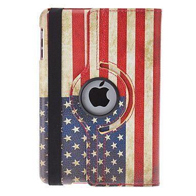Orientable+Design+Rétro+drapeau+américain+Modèle+en+cuir+PU+Case+avec+support+pour+iPad+mini-+–+EUR+€+16.55