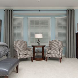 Beau Transitional Bedroom By Sew Fine II Custom Window Treatments And Interiors  | Hubbardton Forge Gallery Spiral