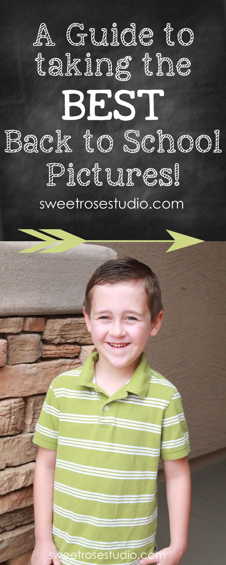 A Guide to Taking the BEST #BacktoSchool Pictures! #photography