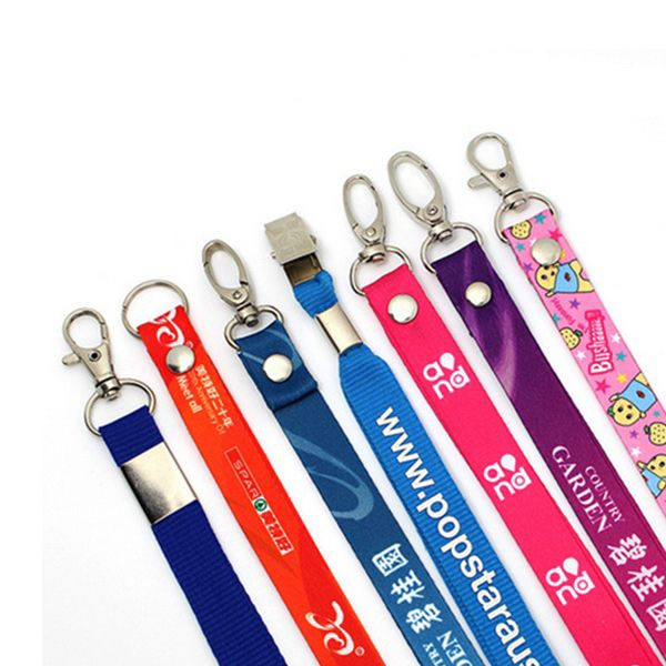 Description: These customized lanyards can be very practical promotional gifts or office necessities. They are widely used in working, trade show and other events with permission or license, also for cell phones, cameras, music players and USB flash drives to prevent loss or dropping. We also have certificate holders to match this lanyards for your convenience. We offer four options for the lanyard clip: J-hook, Key ring, Bulldog clip and lobster claw. All colors available and your company…