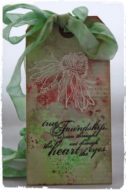 Country View Crafts' Projects: Abandoned Coral - I love you!
