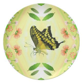 Summer Lover Butterfly Plates