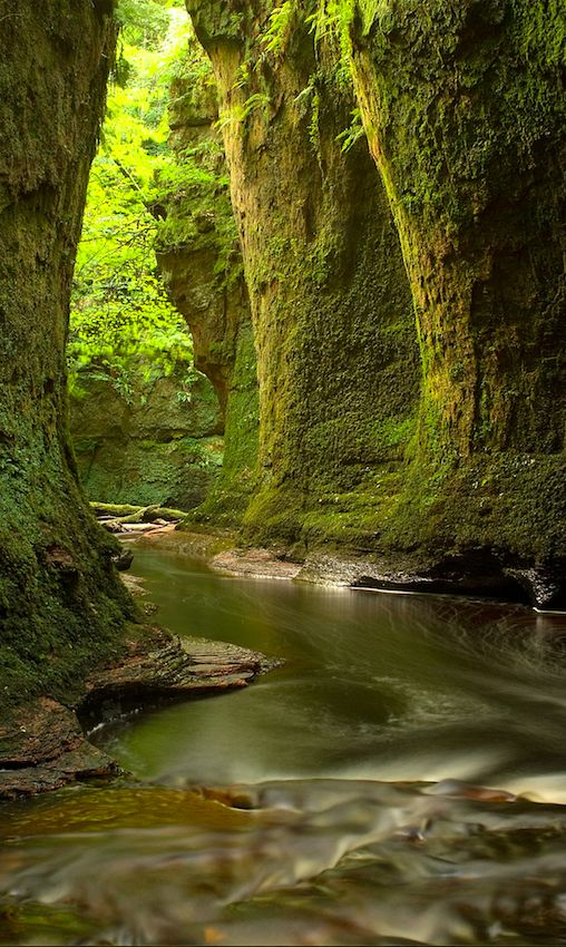 Finnich Glen near Loch Lomond in Scotland • Photo: Ann-Marie Westwood on Photorator