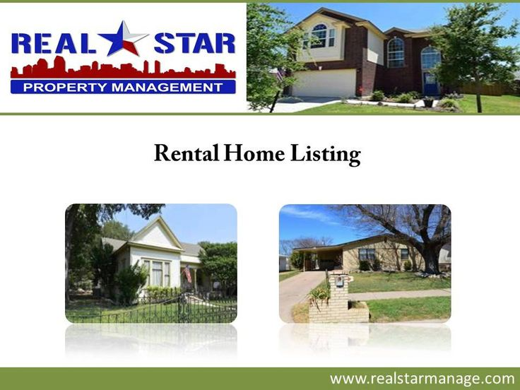 If you are looking to rent a home in Harker Heights, TX, look no further than REAL Star Property Management, LLC. The real estate agents at the company provide complete assistance in choosing the most suitable home according to the budget, lifestyle, location preferences and other requirements of the clients. to browse through the homes available for rent in Harker Heights, visit : http://www.realstarmanage.com