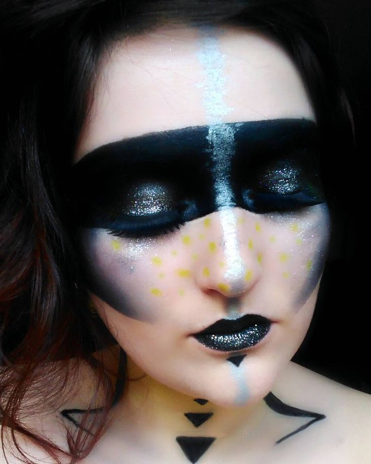 maquillage guerriere