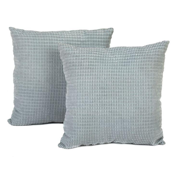 Kirklands Throw Pillow Covers : Blue Logan Pillows, Set of 2 Pillow set, Products and Pillows