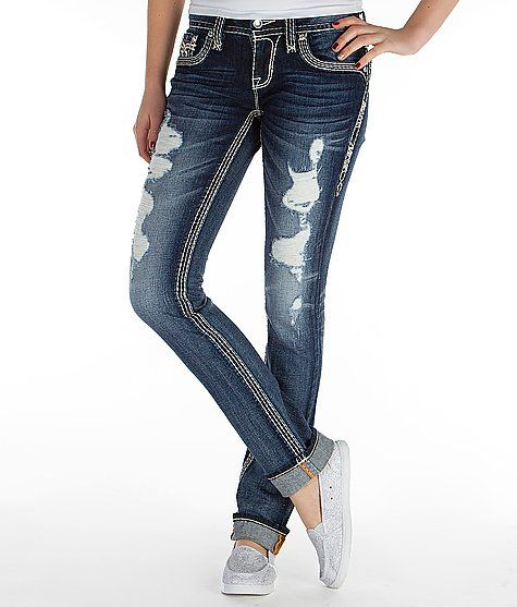 Rock Revival Felicia Straight Stretch Jean