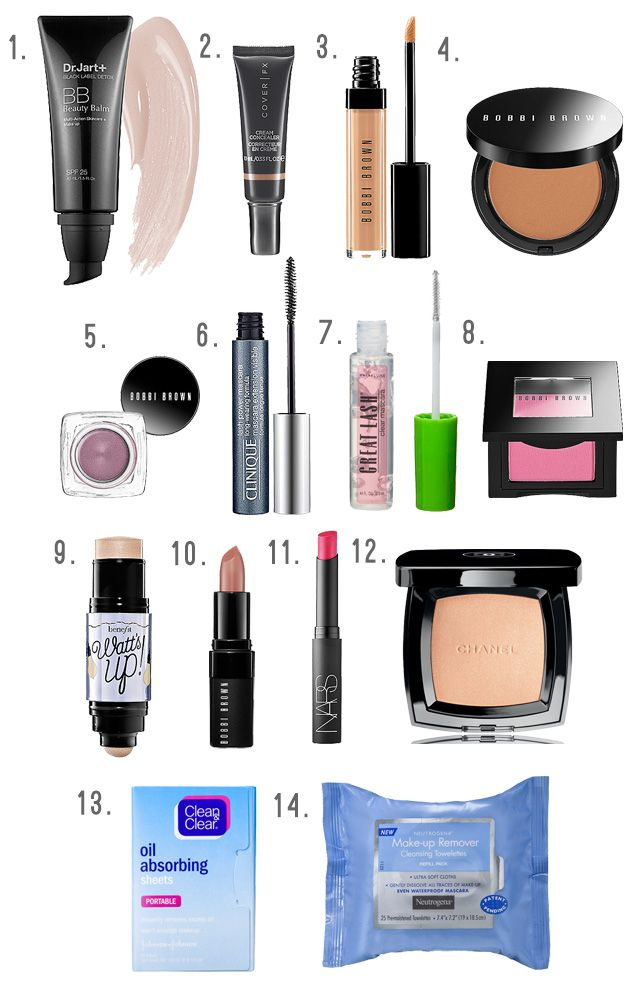 Make-up Picks for Travel Bags