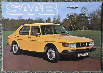 Vintage Saab 99 Turbo 4-Door Sedan