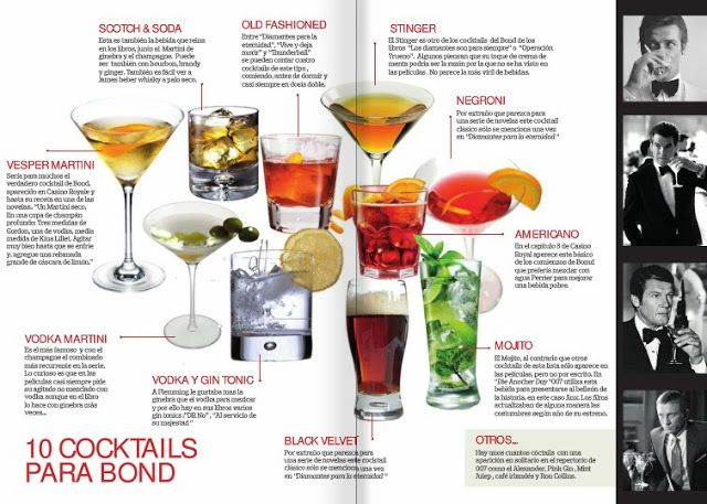 151 best james bond cocktail party images on pinterest for Cocktail 007 bond