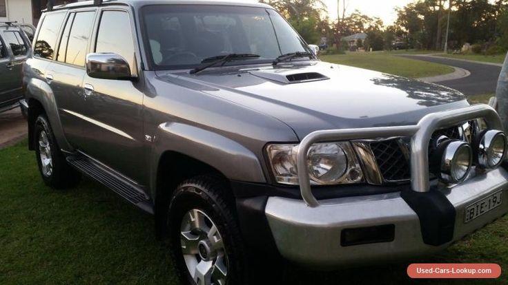 Nissan Patrol gu 6 STL 2008 common rail diesel leather  #nissan #patrol #forsale #australia