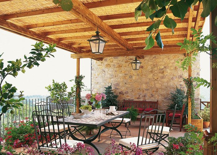 Ca izo casa y campo 25 claves para preparar el exterior for Casas para patios exteriores