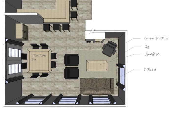 Interieur/indelingsplan