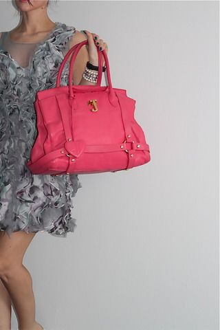 Juicy Couture Pink Leather Bag (www.Lenchylux.com)