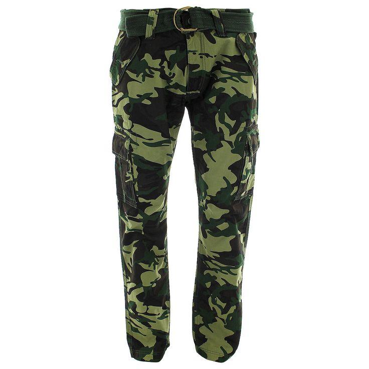 9693d731255852 ... Jordan Craig - Men s Belted Cargo Pants - Grey Camo ...