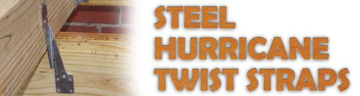 Steel Hurricane Straps