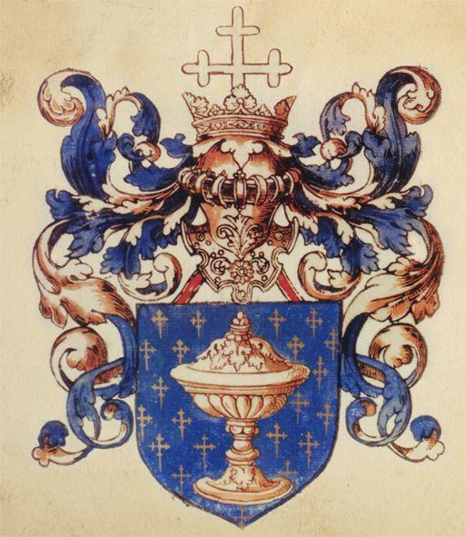 Escudo reino de galicia - Coat of arms of Galicia (Spain) Coat of arms of the Kingdom of Galicia (L´armorial Le Blancq, c. 1560 AD).