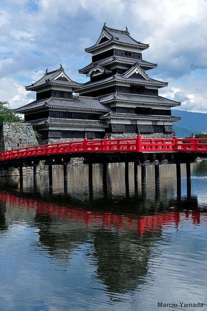 Matsumoto Castle (Crow Castle), Matsumoto, Nagano, Japan