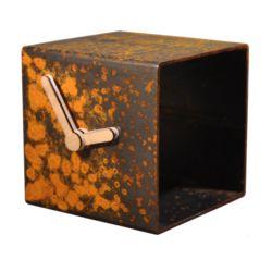 TUBE CLOCK  R by Lente label .#design #dutchdesign #lentelabel #klok #clock #wonen #home #living