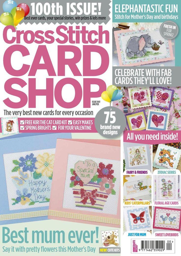 Cross Stitch Card Shop - January 2015