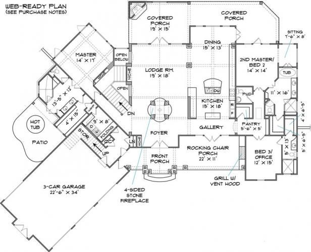 Custom Home Blueprints