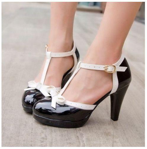 mujer Zapatos negros vintage vintage para para Zapatos negros 0gPqRxB0