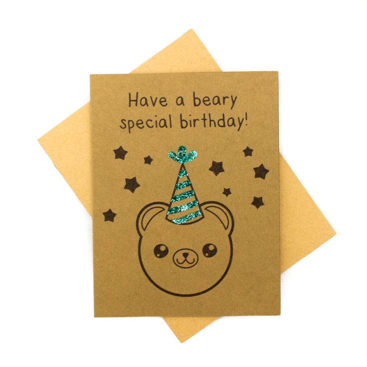 Have a Beary Special Birthday - Birthday Card