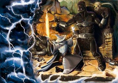 Gandalf e Glamdring - The Hobbit