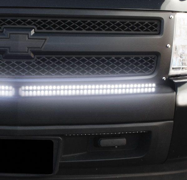 Bully Truck LED Kits - Flexible LED Strips for Cars & Trucks - White & Amber LED Headlight Strips