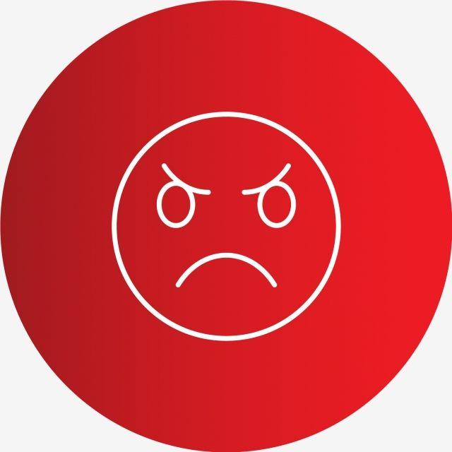 Vector Angry Emoji Icon Vector And Png Angry Emoji Emoji Icon