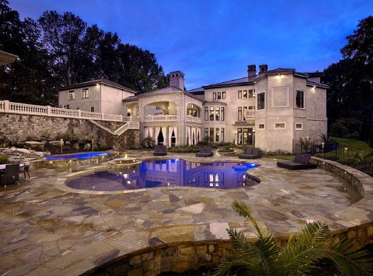 Invited guests only!: Beautiful Homes, Pool, Dream Homes, Dream House, Car Garage, Atlanta, Hines Ward