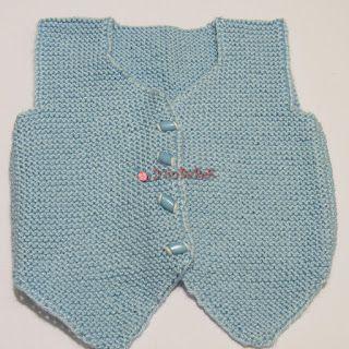 YünBeBeK - El Örgüsü Bebek Giysileri Blogu: Mavi Yün Yelek Modeli