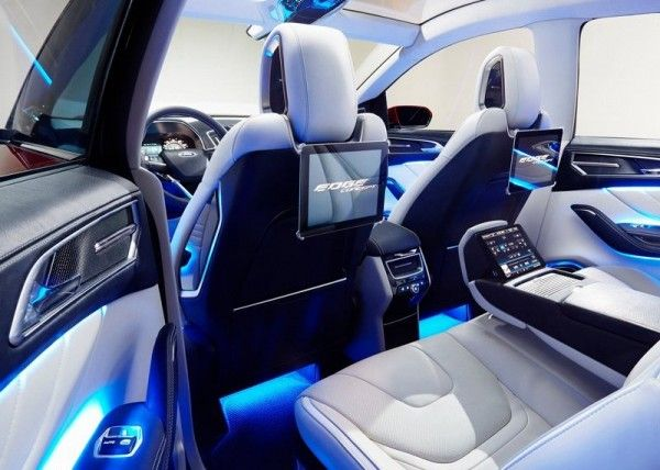 2013 Ford Edge Luxury Interior 600x428 2013 Ford Edge Full Reviews with Images