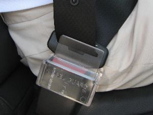 SEAT BELT COVER - I may need this for my clever little man in the near future!