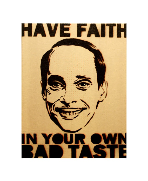 JOHN WATERS PORTRAIT 11 x 14 Graffiti and Pop Art by MrMahaffey, $55.00