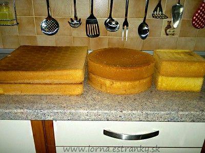 ** Pečení korpusu na dorty **