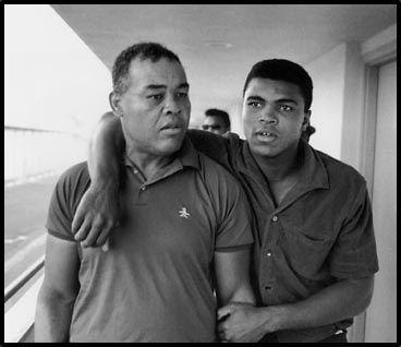 Joe Louis and Muhammad Ali