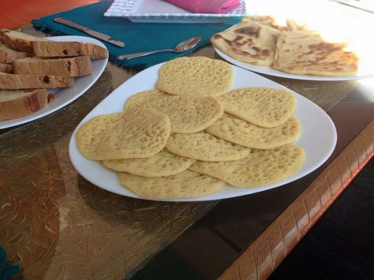 Moroccan crepes