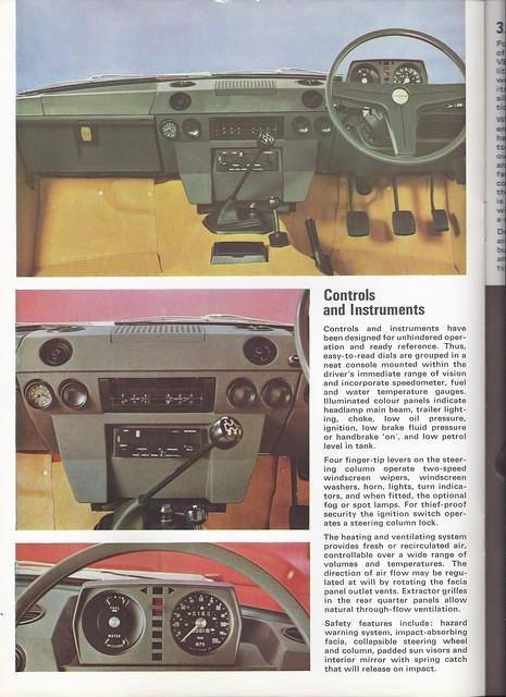 1972 Range Rover Interior