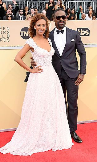 Ryan Michelle Bathe and Sterling K Brown  Photo: © Getty Images 2018