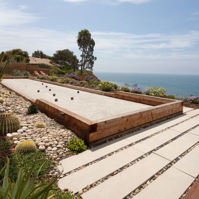 Bocce Ball Court Design Ideas, Pictures, Remodel, and Decor - page 12