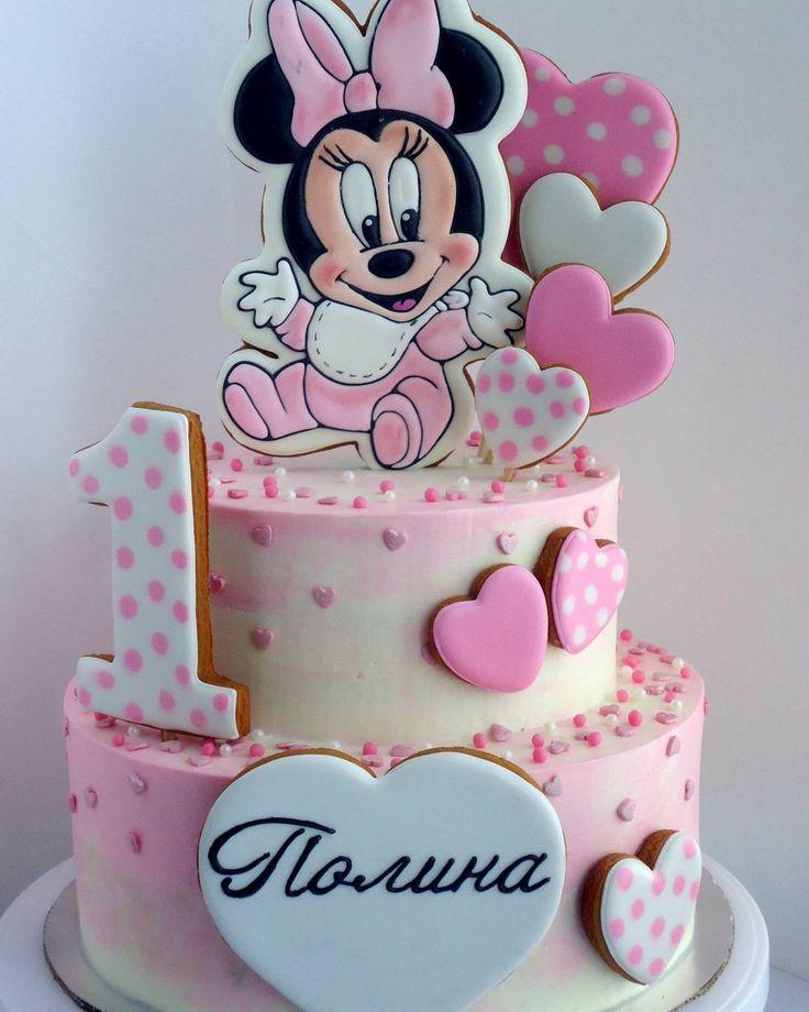 Love this baby Minnie cake